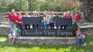 Hello Fresh at Thunder View Farms beef tour